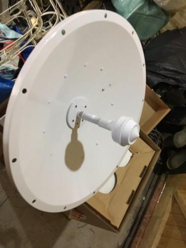 Bay Broadband microwave dish
